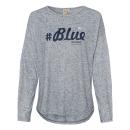 Großhandel Shirts & Tops: Damen Langarmshirt Hashtag, navy