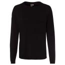 Großhandel Pullover & Sweatshirts: Damen Basic ,Feinstrickpullover schwarz