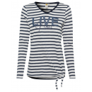 ingrosso Ingrosso Abbigliamento & Accessori: Maglietta a maniche lunghe da donna dal vivo, blu