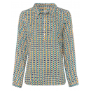 Großhandel Fashion & Accessoires: Damen Bluse Jungle Dots, offwhite