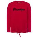 Ladies sweat pullover Roadsign , red
