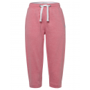 wholesale Trousers: Women's 3/4 sweat pants, coral-melange, ...