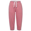 wholesale Trousers: Women's 3/4 sweat pants, coral-melange, ...