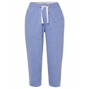 Großhandel Hosen: Damen 3/4 Sweat Pants, ,mittelblau-melange ...