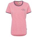 "damska T-Shirt ""czas na relaks"", koralowy, różnoro"