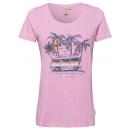 Großhandel Fashion & Accessoires: Damen Print Shirt caravan sunset , rosa, sortiert
