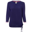 wholesale Shirts & Blouses: Women's material mix blouse cherry, ...