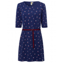 grossiste Vetements: Robe femme Cherry Lady, marine, tailles assorties