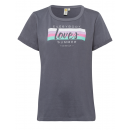 Women T-Shirt everybody loves summer , anthracite