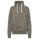 Großhandel Fashion & Accessoires: Damen Tubesweatshirt Flowers allover, ...