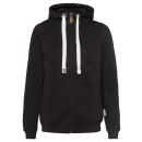 Großhandel Mäntel & Jacken: Damen Sweatjacke Dream, XL, schwarz