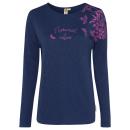 wholesale Fashion & Apparel: Women's long-sleeved shirt Natural Love, marin