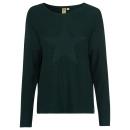 groothandel Truien & pullovers: Dames gebreide trui Star, donkergroen, ...