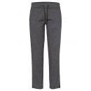 groothandel Overigen: Dames joggingbroek met glitterband, grijze lengte,
