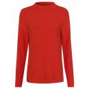 wholesale Pullover & Sweatshirts: Ladies knitted sweater Indian Summer, orange, sort