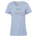 nagyker Ruha és kiegészítők: Hölgyek T-Shirt Ausztrál nyár, XL, világoskék