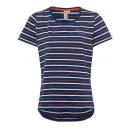 Hölgyek T-Shirt Csíkos szerelem, tengeri / ws / pi