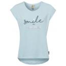 mayorista Ropa / Zapatos y Accesorios: Top de mujer Smile and Sunshine, azul claro, surti