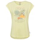 Damski T-Shirt Lemon Valley, żółte, różne rozmiary