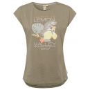 Damski T-Shirt Lemon Valley, oliwka, różne rozmiar