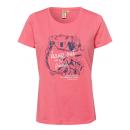 Hölgyek T-Shirt Lógni, korall, válogatott méretekb