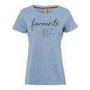 mayorista Ropa / Zapatos y Accesorios: Señoras T-Shirt favorito, azul claro, tamaño surti