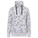 hurtownia Fashion & Moda: Damska bluza Tube Flowers AOP, ecru, mix