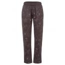 wholesale Sports & Leisure: Women jogging pants Flowers AOP, brown, assorted s