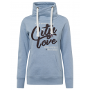 groothandel Kleding & Fashion: Damessweatshirt Tube City love, lichtblauw, sort