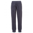 wholesale Sports & Leisure: Ladies jogging pants with zip pockets, anthracite,