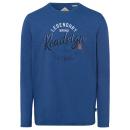 wholesale Shirts & Tops: Men's Longsleeve Legendary, blue, XL