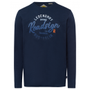 wholesale Fashion & Apparel: Men's Longsleeve Legendary, navy, 2XL