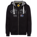 Men's sweat jacket Original, black