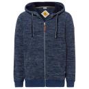 wholesale Fashion & Apparel: Men's fleece jacket melange, navy