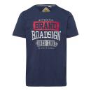 Großhandel Shirts & Tops: Herren T-Shirt Roadsign Classic, marine