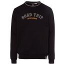 ingrosso Ingrosso Abbigliamento & Accessori: Felpa da uomo Roadtrip, nera