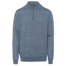 Gebreide heren sweater Savannah, lichtblauw
