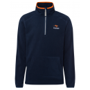 wholesale Other: Men's Fleece Troyer Blue City, navy