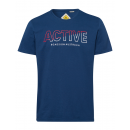 grossiste Vetement et accessoires: messieurs T-Shirt Active, marine, tailles assortie