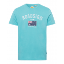 Men's T-Shirt Australian flag, petrol, assorte