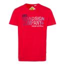 Großhandel Fashion & Accessoires: Herren T-Shirt Roadsign Company, rot, sortierte Gr