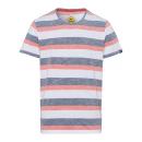 panowie T-Shirt Swan River Stripes, biały / antrac