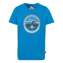 Men's print shirt Trail Adventure, royal, asso