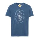 Herren Printshirt Swan River, blau, sortierte Größ