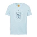 groothandel Kleding & Fashion: Zwanenoverhemd herenprint, ijsblauw, assorti G