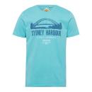 groothandel Kleding & Fashion: Herenprint shirt Sydney Harbour, benzine, geassort
