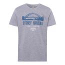 wholesale Fashion & Apparel: Men's print shirt Sydney Harbor, gray ...
