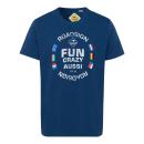 ingrosso Ingrosso Abbigliamento & Accessori: Camicia da uomo con stampa Fun Aussie, marina, tag
