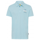 Men's polo shirt down under, ice blue, assorte