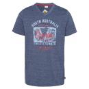 grossiste Vetement et accessoires: messieurs T-Shirt Lever du soleil, mélange marin,